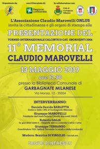 Presentazione XI Memorial Marovelli