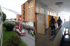 """Progetto """"Scuola e Casa Sicure"""": simulata l'evacuazione della Scuola Galilei"""