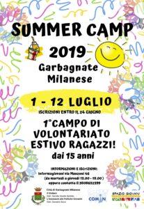 Summer Camp di Volontariato: aperte le iscrizioni!