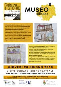 Museo Diffuso: dal 20 Giugno, a Garbagnate!