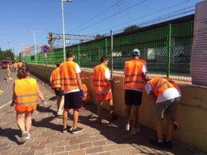Summer Camp: giovani al lavoro per il decoro della Città