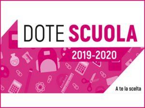 Dote Scuola 2019-2020: seconda edizione