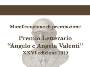 Premiazione Premio Letterario Angelo e Angela Valenti