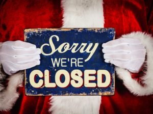 Ludoteca, Sala Prove, Picchio Rosso, Informagiovani: chiusure per festività natalizie