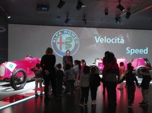 Museo dell'Alfa Romeo e Pet Therapy: esperienze indimenticabili per i nostri alunni
