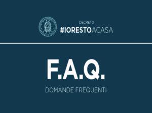 Decreto #IoRestoaCasa: domande frequenti e modulo autodichiarazione