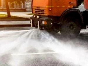Igienizzazione strade: programma per zone