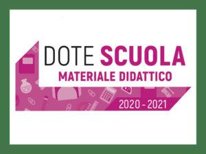 Dote Scuola 2020-2021: materiali didattici