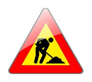 Rimozione porfido in Centro: avanzamento lavori Fase-2