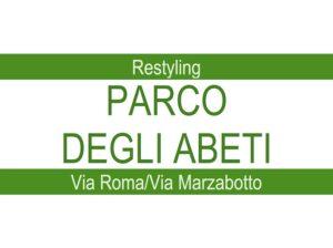 Restyling per il Parco degli Abeti di Via Roma