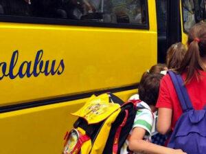 Trasporto Scolastico Scuola Secondaria: orari in vigore dal 10 Novembre