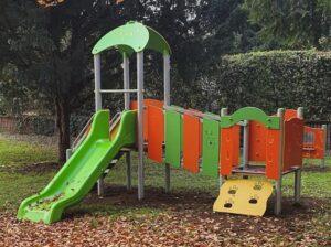 Nuovi giochi in tutte le Scuole Materne e nel Nido di Via Bolzano