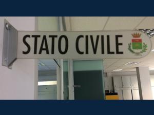 Apertura Ufficio di Stato Civile Sabato 1 Maggio