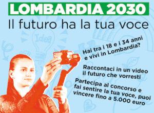 Lombardia 2030. Il futuro ha la tua voce.