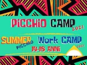 Picchio Camp 2021: aperte le iscrizioni!