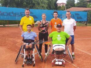Campionati Assoluti di Tennis in Carrozzina a Garbagnate