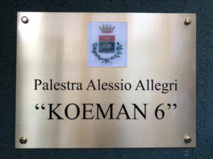 """Intitolazione Palestra """"Alessio Koeman Allegri"""": il pensiero del Sindaco Barletta"""