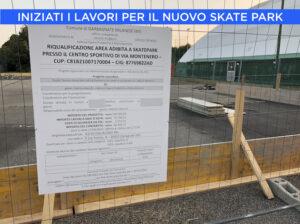 Iniziati i lavori per il nuovo Skate Park