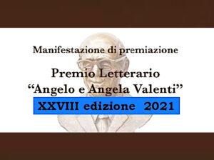 XXVIII Premio Letterario Valenti: premiazione