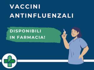 Vaccini Antinfluenzali alle Farmacie Comunali: tutte le informazioni