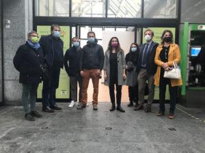 Velostazione da 68 posti nella Stazione di Garbagnate Milanese